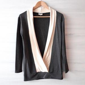 Buttercream Clothing Deep-V Sweatshirt
